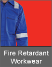 B Click Fire Retardant Workwear from Mettex Fasteners