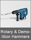 Bosch Rotary & Demolition Hammers from Mettex Fasteners