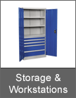 Sealey Storage & Workstations from Mettex Fasteners